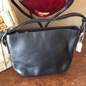 Coach leather mini purse